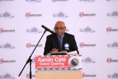 President of Middlefield Seniors  Arul Rajasingham
